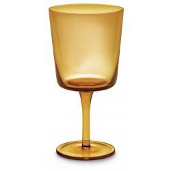 Mundgeblasenes Weinglas 6er-Set Amber Giannini